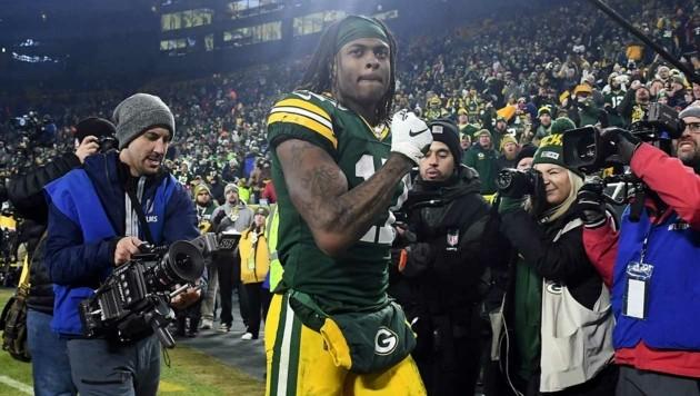 Davante Adams von den Green Bay Packers (Bild: APA/AFP/GETTY IMAGES/Stacy Revere)