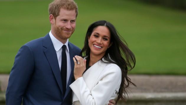 Prinz Harry und Meghan Markle (Bild: AFP)