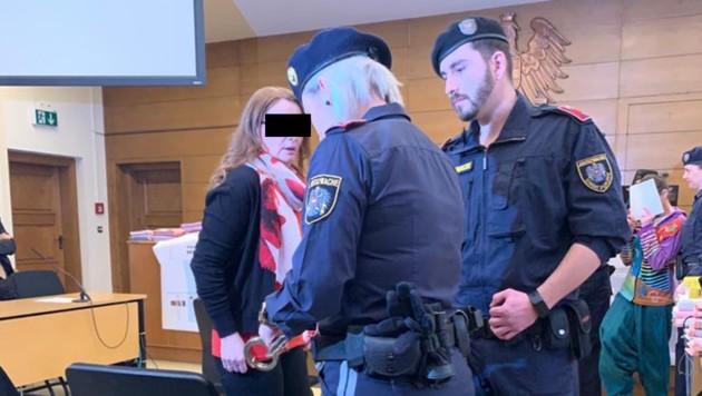 Der vergangene Prozess um die Verantwortung für die Tötung einer 72-Jährigen. (Bild: Kerstin Wassermann, krone.at-Grafik)