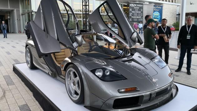 """Den höchsten Preis bei einer Auto-Auktion hat der McLaren F1 """"LM-Spec"""" erzielt. (Bild: Frank Wilke / Classic Analytics)"""