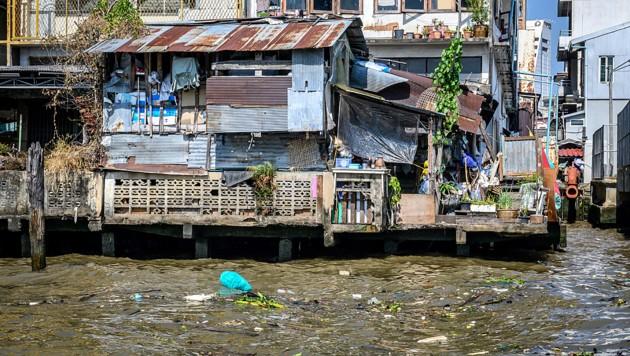 Der Chao Phraya (hier in Bangkok) ist neben dem Mekong der größte und wichtigste Fluss Thailands. (Bild: AFP)