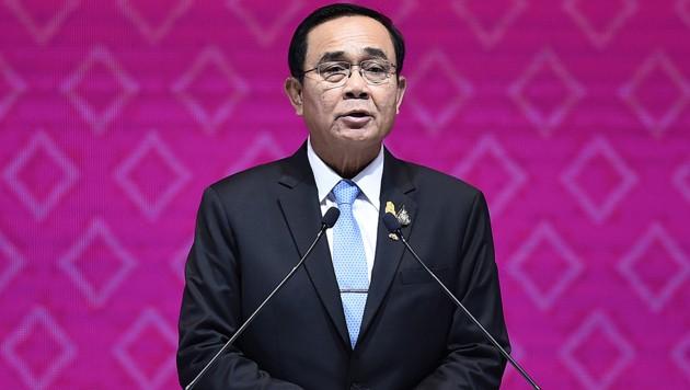 Der thailändische Premierminister Prayut Chan-o-cha (Bild: AFP)