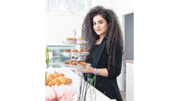 Dilan Ulutas erfüllte sich mit ihrer Liberté Cake Boutique in Wien einen Traum. (Bild: Gilbert Novy)