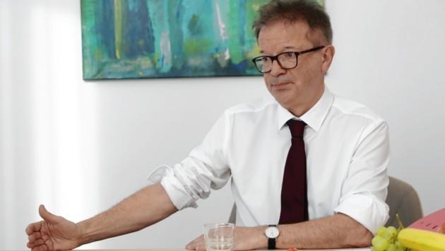 Gesundheitsminister Rudolf Anschober (Grüne) (Bild: Jöchl Martin)