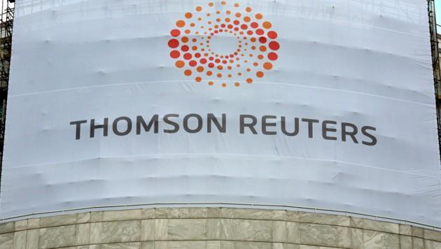Das Thomson-Reuters-Gebäude in London (Bild: AFP)