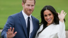 Prinz Harry und Herzogin Meghan (Bild: AFP)