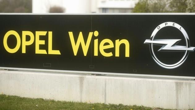 Die Opel-Getriebe- und Motoren-Fabrik in Wien-Aspern (Bild: APA/HERBERT PFARRHOFER)