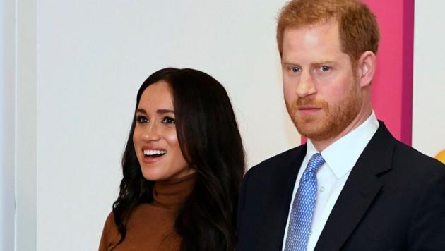 Herzogin Meghan und Prinz Harry (Bild: AFP )