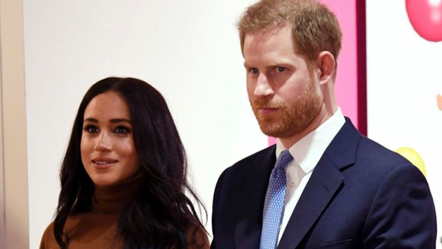 Herzogin Meghan und Prinz Harry (Bild: AFP or licensors)