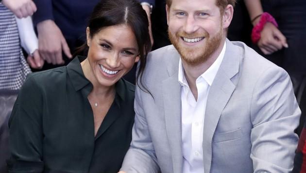 Herzogin Meghan und Prinz Harry (Bild: www.PPS.at)