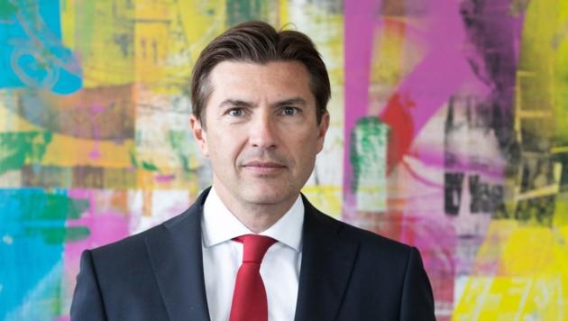 Robert Zadrazil, Vorstandsvorsitzender der Bank Austria (Bild: Gilbert Novy)