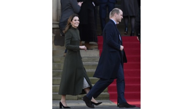 Prinz William und Herzogin Kate im Bradford (Bild: Copyright 2020 The Associated Press. All rights reserved)