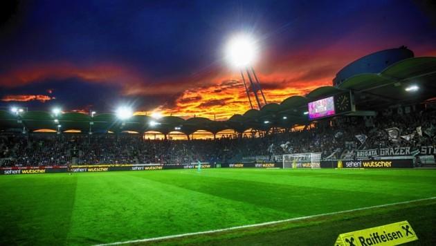 Die Merkur-Arena in Graz-Liebenau (Bild: Sepp Pail)