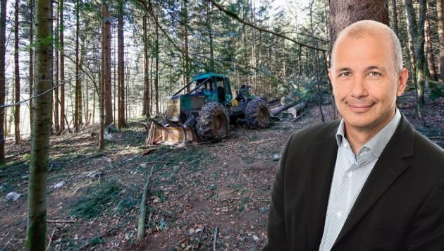 Wolfgang Hafner ist seit 2009 Projektleiter der Salzburger Trasse. Von Protesten der Anrainer lässt er sich nicht bremsen, die Leitung sei ein zu wichtiges Infrastrukturprojekt. (Bild: Markus Tschepp)