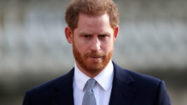 Die Aufregung der letzten Tage schien auch an Prinz Harry nicht spurlos vorübergegangen zu sein. (Bild: AFP)