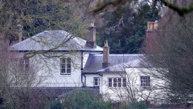 Frogmore Cottage auf dem Home Park Estate in Windsor (Bild: Steve Parsons / PA / picturedesk.com)