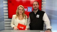 Raphaela Scharf im Talk mit Georg Scattolin (Bild: krone.tv)
