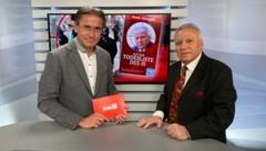 Gerhard Koller im Talk mit Amer Albayati (Bild: krone.tv)