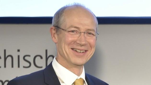 Herbert Kasser (Bild: Österreichisches Patentamt/APA-Fotoservice/Hörmandinger)