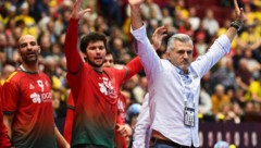 Portugals Coach Paulo Pereira (Bild: AFP/Jonathan Nackstrand)