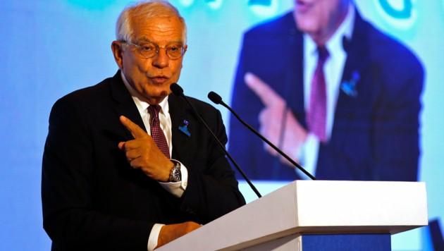 EU-Außenbeauftragter Borrell (Bild: ASSOCIATED PRESS)