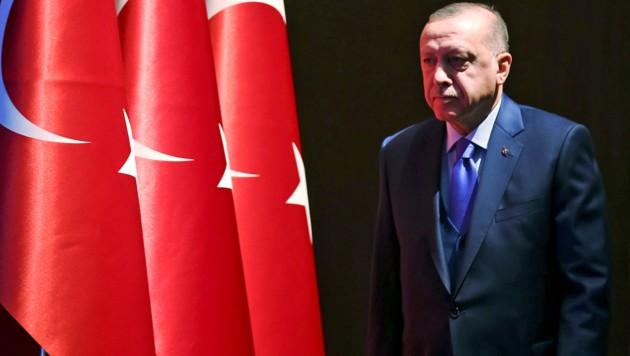 Der türkische Präsident Recep Tayyip Erdogan (Bild: ASSOCIATED PRESS)