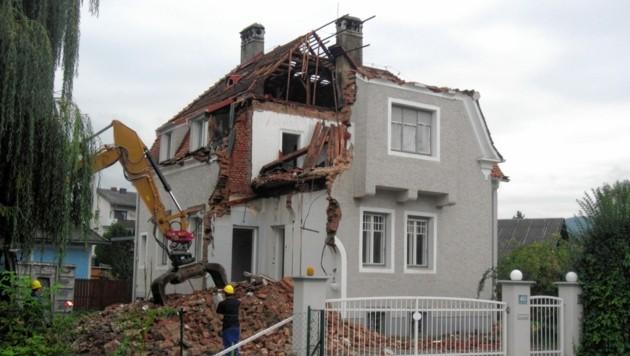 Ein ehemaliges Schmuckstück im Zentrum von Graz-Andritz. (Bild: Peter Laukhardt)