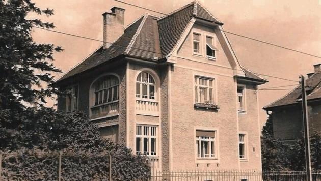 Dieses Haus in der Eckertstraße 90 wurde gerettet! (Bild: Sammlung Peter Laukhardt)