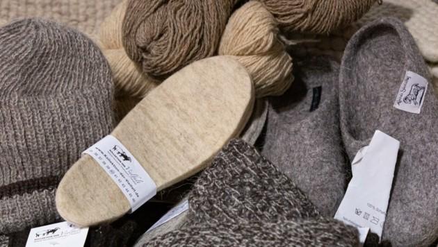 """Nicht alle Schafe haben weiße, leicht zu färbende Wolle – für sie wurde das Projekt """"Kollektion der Vielfalt"""" gestartet. (Bild: Christian Forcher)"""