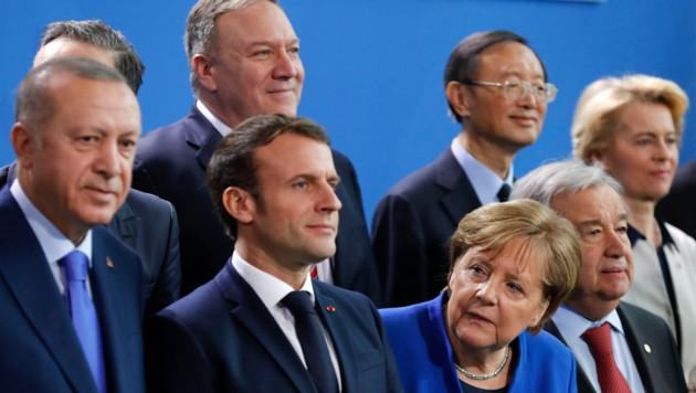 Bundeskanzlerin Angela Merkel sieht den hochrangigen Libyen-Gipfel in Berlin als Erfolg. Auch wenn die Umsetzung der Beschlüsse erst erfolgen muss. (Bild: APA/AFP/Odd ANDERSEN)
