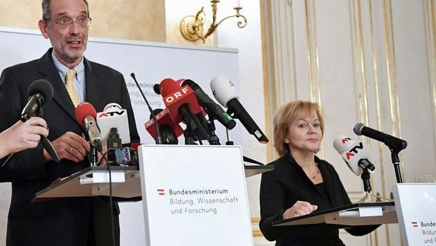 Susanne Wiesinger war ein Jahr lang Ombudsfrau im Ministerium von Heinz Faßmann tätig. Ihr Engagement hat nun abrupt geendet. (Bild: APA/HELMUT FOHRINGER)