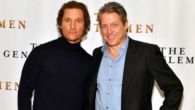 Matthew McConaughey und Hugh Grant (Bild: 2020 Getty Images)