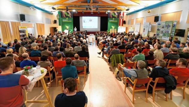 Humus-Vorträge sorgen oft für brechend volle Säle (Bild: Ökoregion Hartberg)