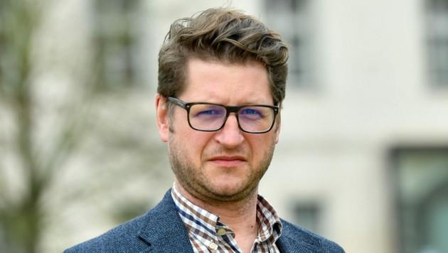 Florian Schwanninger, Historiker und Leiter (Bild: Harald Dostal)