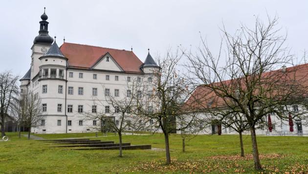 Der Lern- und Gedenkort Schloss Hartheim bei Alkoven. (Bild: Harald Dostal)