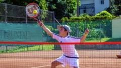 Tennis-Boom auch in der Steiermark: Für die Eltern kann das mitunter ganz schön teuer werden. (Bild: Wolfgang Jannach )