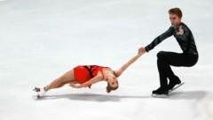 Das russische Paar Alisa Efimova und Alexander Korovin (Bild: GEPA pictures)