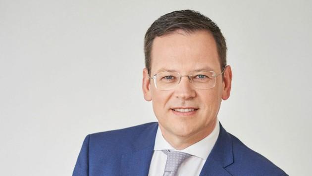 Klaus Kumpfmüller (50) wird neuer Vorstandsvorsitzender der HYPO Oberösterreich (Bild: Dieter Steinbach)