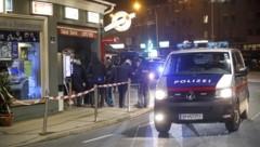 Polizei-Einsatz nach dem Trafiküberfall von 26. November (Bild: Tschepp Markus)