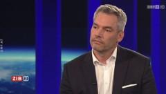 Innenminister Karl Nehammer (ÖVP) (Bild: ORF)