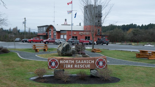 Die Feuerwehrwache von Vancouver Island: Sollten was sein, rücken von ihr aus die Helfer aus. (Bild: AFP)