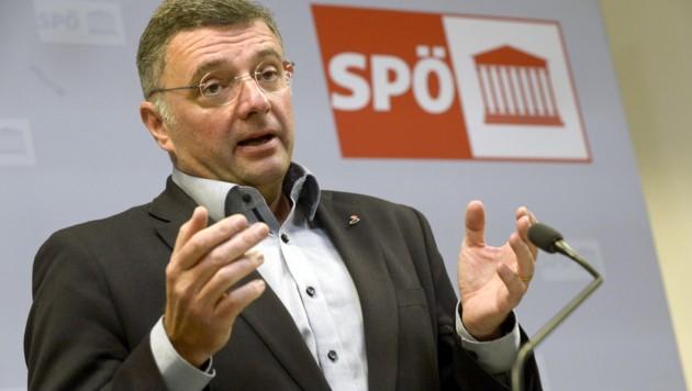 Jörg Leichtfried (Bild: APA/HERBERT PFARRHOFER)