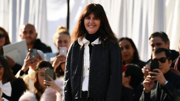 Virginie Viard wurde nach dem Tod von Karl Lagerfeld im letzten Jahr die neue Chefdesignerin von Chanel. (Bild: AFP )