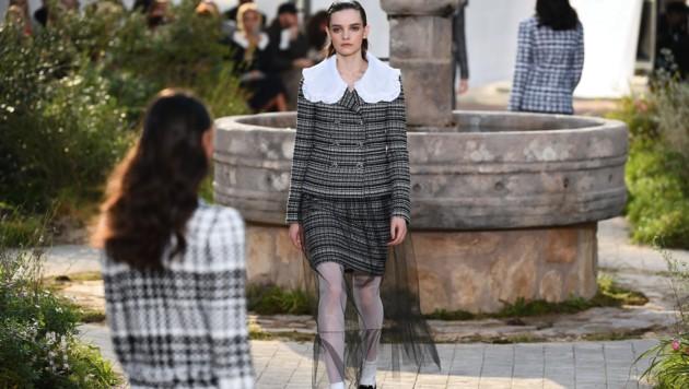 Models am Laufsteg von Chanel (Bild: AFP or licensors)