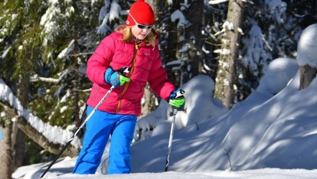Die Postalm an der Grenze zu Salzburg ist bei den Wintersport-Fans wieder hoch im Kurs. (Bild: Wolfgang Spitzbart)