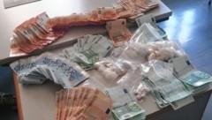 1,3 Millionen Euro sollen die Dealer an den etwa 22 Kilo Kokain verdient haben. (Bild: LPD Wien)