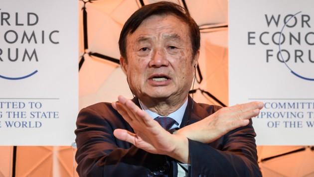 Huawei-CEO Ren Zhengfei (Bild: AFP)