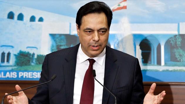 Der neue libanesische Ministerpräsident Hassan Diab (Bild: AP)