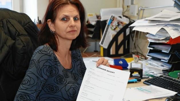 220 Euro für das Einchecken am Flughafen musste Frau M. bezahlen, weil es online nicht funktionierte. Das Geld bekommt sie nicht zurück. (Bild: zwefo)