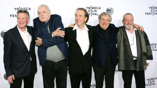 Michael Palin, John Cleese, Eric Idle, Terry Jones und Terry Gilliam (Bild: 2015 Getty Images)
